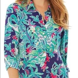 Lilly Pulitzer Isla Button up Size L